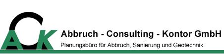 ACK Abbruch-Consulting-Kontor GmbH Logo
