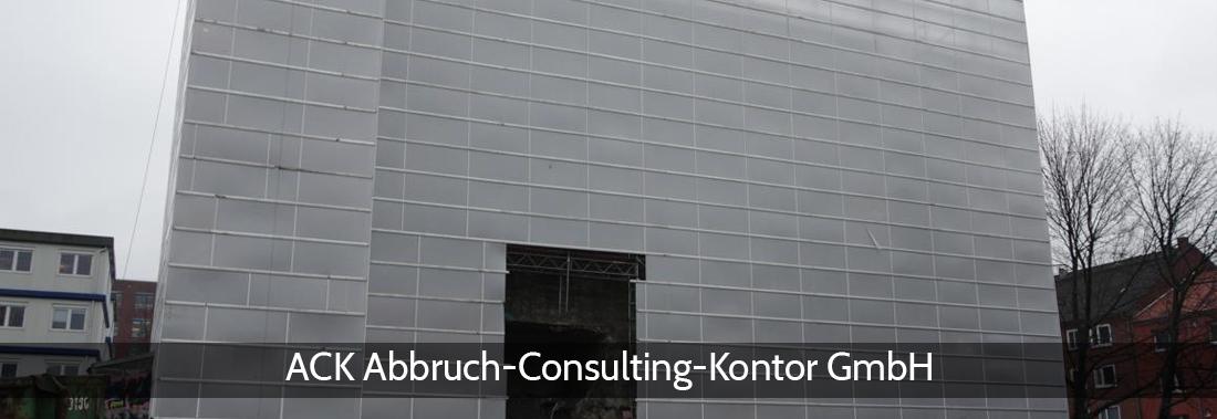 Abbruchplanung Tespe - ACK: Baugrundempfehlungen, Abbruchüberwachung