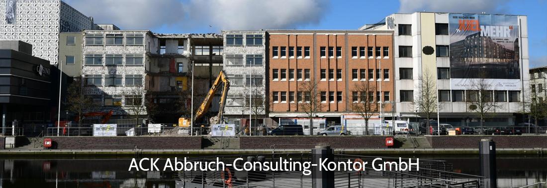 Abbruchplanung Köthel - ACK: Gründungsempfehlungen, Abbruchüberwachung