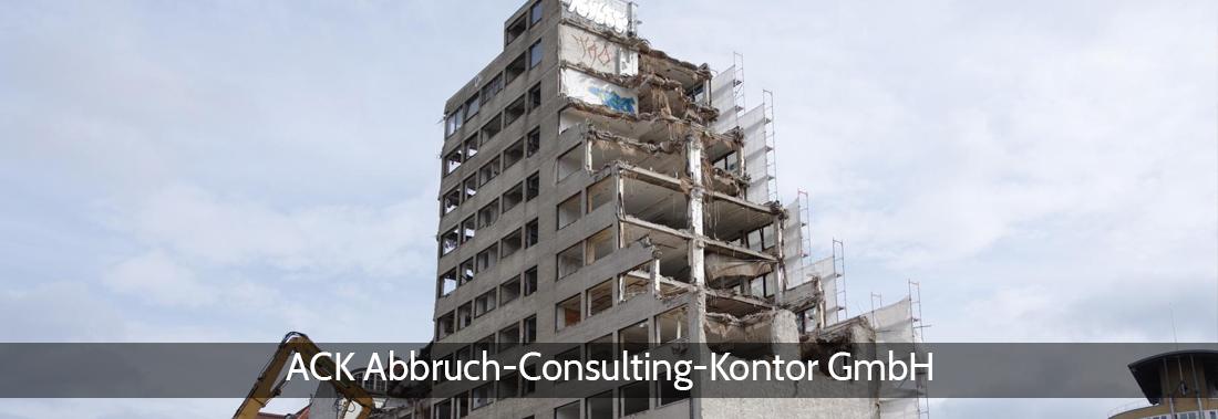Abbruchplanung in Neu Wulmstorf - ACK: Baugrundempfehlungen, Abbruchüberwachung