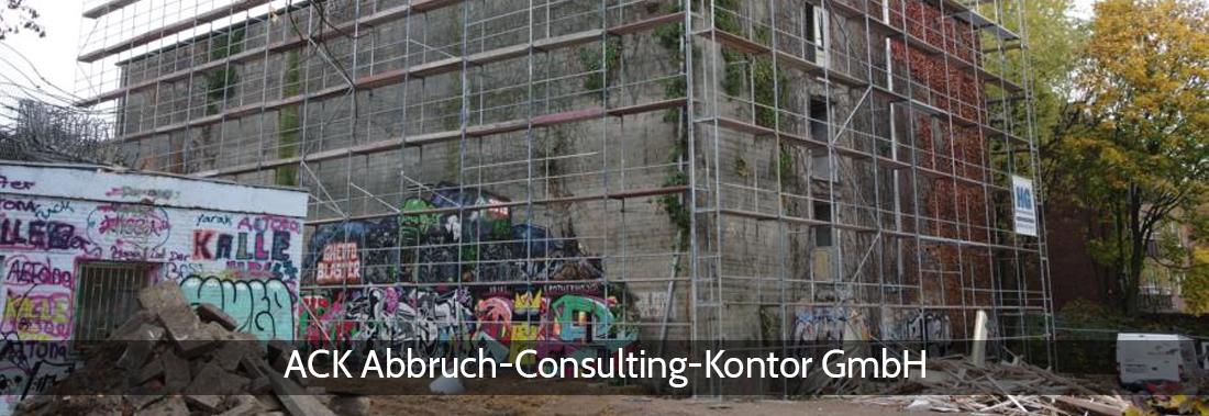Abbruchplanung in Jersbek - ACK: Baugrundempfehlungen, Gefährdungsabschätzung