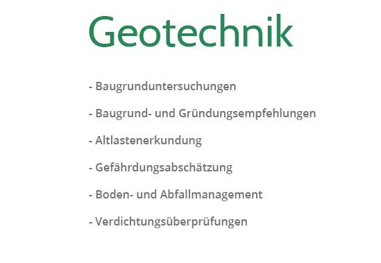 Geotechnik aus  Schönberg