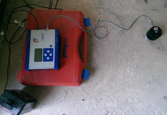 Schwingungsmessungen aus  Tespe